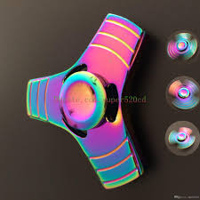 2017 Luxury Rainbow 3 Leaves Metal Fidget Finger Spinner Toys Hand  Fingertip Spinner Gyro EDC Handspinner Desk Hand Novelty Gag Toys Gifts  Sheep ... Fidget Hand Spinner Multiple Colors Stress Anxiety Relief Fun For The Kids Or Adults Spinners Sainburys Asda Edc Game Zinc Sensory Theraplay Box Penglebao P867 A6 Large Container Truck With 6 What Are They Where Can I Buy Money Fidget Spinner Pink And Purple In India Silicone Kidbox Clothing Subscription Review Coupon Back To School Addictive Utube Best List Ever Must See The Best Hasbro Rubiks Cube Puzzle Toy Expired