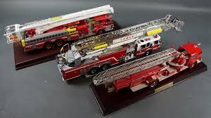 100 Diecast Fire Truck FRANKLIN MINT DIECAST FIRETRUCK COLLECTION 3 Hodgins Art