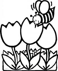 Spring Flowers Printable Coloring P Pages