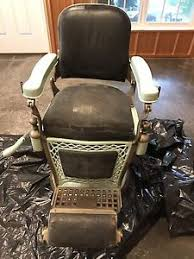 Emil J Paidar Barber Chair Headrest by Antique Emil J Paidar Barber Chair Ebay