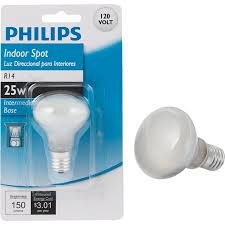 philips r14 mini incandescent spotlight light bulb walmart com