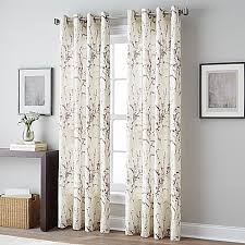 Sound Deadening Curtains Bed Bath And Beyond by Botanical Grommet Top Window Curtain Panel Bed Bath U0026 Beyond