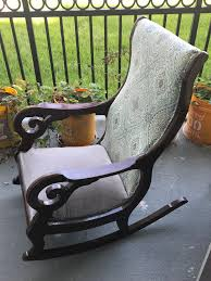 Reupholstering An Antique Rocking Chair (Part 1) – ProcrasCreationDIY How To Paint An Outdoor Metal Chair Howtos Diy 10 Rocking Ideas To Choose Upholster A Part 1 Prodigal Pieces Broken Repurposed Into Shelf Vintage Makeover Noting Grace Yard Sale Addicted 2 Liverpool Antique Oak Fabric Arm Platform Glider Dtown Oklahoma City Leisure Made Pearson White Wicker With Tan Cushions 2pack Wood Log Wooden Porch Rustic Rocker Diy Plans Nanny Network