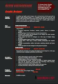 Graphic Design Resume Examples 2014 Designer O Example 5