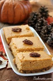 Pumpkin Gingersnap Cheesecake Bars by Perfect Pumpkin Walnut Cheesecake Bars Bakerette