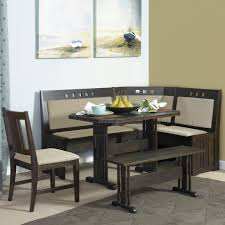 Kitchen Table With Bench Seating And Custom Booth Images Corner Sets Popular Breakfast Nook At