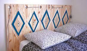 tete de lit a faire soi mme idée déco chambre adulte fabriquer une tête de lit en bois pas cher
