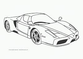 Download Sports Car Coloring Page Title