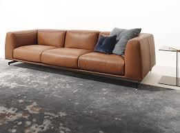 ST GERMAIN Leather sofa by Ditre Italia design Daniele Lo Scalzo