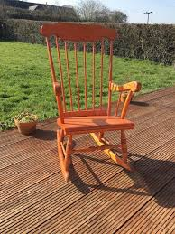 Sturdy Wooden Rocking Chair | In Fair Oak, Hampshire | Gumtree Sunnydaze Toddler Modern Wooden Rocking Chair With Nontoxic Paint Finish Fits Most Children Under 3 Feet Tall Brown Beacon Park Wicker Outdoor Ding Orange Cushion Pond Themed Hand Painted Rocking Chair For Baby Twin Rumi Vintage Doll Hand Painted Tole Flowers Wood Gold Red Rush Seat 1970s Ladder Back In Leith Walk Edinburgh Gumtree Grey Shabby Chic Removable Orange Cushions Barry Vale Of Glamorgan Are You Sitting Comfortably Traformations Buy Made Childs Custom Colors And Decor Rustic Fir Log Cabin Patio Loveseat Fan Back Design 2person 500 Lbs Capacity Rocker And Distressed F Charlottes Locks