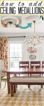 Small Two Piece Ceiling Medallions by Best 25 Rustic Ceiling Medallions Ideas On Pinterest Painted