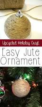 Xmas Tree Watering Devices by Upcycled Jute Ornaments Easy And Inexpensive Craft Christmas