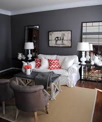 Black Red And Gray Living Room Ideas by Our House The Living Room The Graphics Fairy