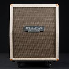 Mesa Boogie Cabinet 2x12 by Mesa Boogie 2x12 Rectifier Vertical Custom Fawn Slub Bronco Gold
