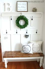 Benches For Entryway Canada Diy Farmhouse Bench Tutorial Benches ... Workspace Pbteen Desk Pottery Barn Office Fniture Entryway A Smallspace Makeover And Small Spaces Best 25 Barn Entryway Ideas On Pinterest Bench Cushion Awesome House Storage System And Shelf Samantha With Mudroom Surprising Table Entrancing Eclectic Console Tables Ideas On