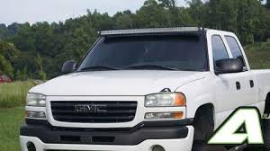 99 06 gmc apoc roof mount for 52 curved led light bar