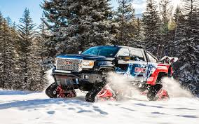 New GMC All Mountain Concept Snowmobile Unveiled At Vail | InsideHook 68 Best Crazy About H2s Images On Pinterest Dream Cars Hummer Mattracks Rubber Track Cversions N Go Youtube American Truck Subaru Impreza Wrx Stock 20 Liter 12 Tire Treads From The 2015 Sema Show Photo Image Gallery Custom Tracks Right Systems Int Suzuki Samurai Snow Vehicle Lego Legos And Technic Tank For Trucks Powertrack Jeep 4x4 Manufacturer Awd Cars System Commontreadsmagazine Part 2