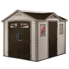 Keter Woodland High Storage Shed by Decorating Keter Shed 8 Ft X 11 Ft Plastic Outdoor Storage Shed