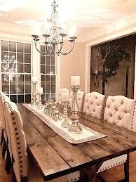 Long Farmhouse Dining Table Large Farm Room Custom Wood
