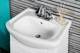 Smallest Bathroom Sink Available by Small Bathroom Vanity Cabinet And Sink White Pe1612w New Petite