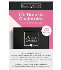 BoxyLuxe September 2019 Selection Time! - Hello Subscription Boxycharm Jan 2019 Bite Beauty Beautyboxes Aaa Discounts Promo Code Halo Hair Exteions Coupon 5 Wishes Online Dave And Busters Nj Coupons Online Rsa Lowes Discount For Realtors Boxycharm Rock Bottom Vapes Glenwood Hot Springs Wayfair Hundred Acres Manor Walmart Canvas Wall Art Bass Pro Shop Gift Card Balance Check Bombas July Qci Pladelphia Cream Cheese Printable 2018 Dashlane August Splat Dye