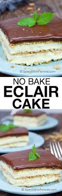 cuisine ch e clair eclair cake spend with pennies