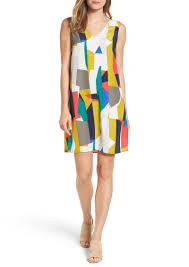 halogen halogen v neck shift dress regular u0026 petite dresses