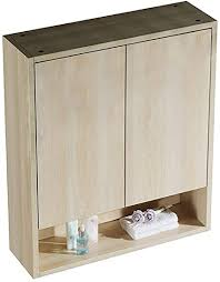 de hsrg hölzerner badezimmer kabinett doppelte tür mit