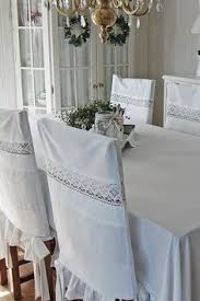 Shabby Chic Dining Room Chair Covers by Gonna Do This For The Dining Room Chairs With All The Kids This