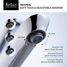 Aerator Faucet Standard Bubble Spray by Low Flow Faucet Aerator Low Flow Faucet Aerator Installed In A