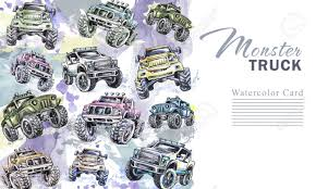 Watercolor Cars Vertical Border. Cartoon Monster Trucks Frame ... Traxxas Stampede 4x4 Vxl Brushless 110 4wd Rtr Monster Truck Blue Bulldog 4x4 Firetruck Firetrucks Production Brush Trucks Mt4 Buggy Extreme Offroad Offroad Pinterest Cars And Unbelievable Trucks Crossing River Xmaxx Rc Met The Guy With Smallest Dick In Universe Last Night Funny 7 Of Russias Most Awesome Offroad Vehicles Proline Profusion Sc Electric Short Course Kit Isuzu Concept X Off Roading Garage Centraal Aruba