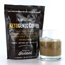 Rapid Fire Ketogenic Coffee Instant Mix 793 Oz