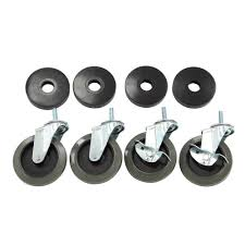100 Home Depot Moving Trucks HDX 4 In Industrial Casters With Bumper 4Pack30260PSYOW The