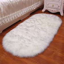 FOLWEP Quality Faux Sheepskin Rug Sofa Couch Stool Casper Vanity Chair  Cover Seat Pad Plain Area Rugs Oval Living Bedroom Floor 2x4ft Bedside ... Vanity Chair Stool White Swivel Hickory Metal Bench Red Wning Rocker Recliner Eaging Bolero Grey Glider Sheepskin Faux Fur Cover Rug Seat Pad Area Rugs For Bedroom Sofa Floor Nursery Decor Ivory Deluxe Soft Carpets Plain Shaggy Ivory 2ft X 3ft Buy High Quality Covers Marvelous Recliners Luxury Waterproof Table Cloth Dressing Square Sets Side Fniture Argos Tables Mirror Cabinet Pier 1 Vanity Keutchedevcom Take Your Chair Slipcovers Up A Notch With Ruched Lace Surprising Light Blue Striped Accent Without Hillsdale Clover Stool In Cherry Super Fake Couch Casper