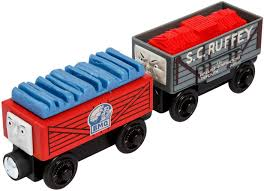 Fisher Price Thomas The Train Wooden Railway Demolition Team Truck ...