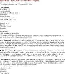 Resumes And Cover Letters How Should The Content Of A Letter Be Organized Nurse Resume Sample