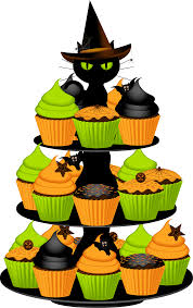 Halloween Birthday Cake Clipart