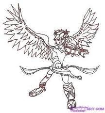 How To Draw Pit From Smash Bros And Kid Icarus Step 12