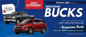 Bergstrom Chevy Dealerships In Wisconsin