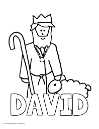 World History Coloring Pages Printables King David