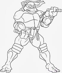 Picture Ninja Turtles Coloring Pages 38 For Your Free Colouring With