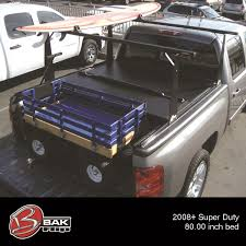 100 Truck Bed Rail Covers Industries Bakflip Hard Folding Cover Integrated Rack