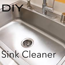Unclogging A Bathroom Sink Baking Soda by Make It Shine How To Clean Your Stainless Steel Sink Orange