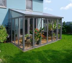 Palram Feria Patio Cover Uk by Palram Sanremo 3x4 25 Grey Veranda Verandas Polycarbonate Roof
