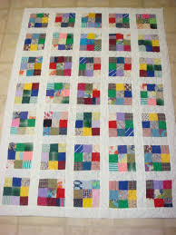 2012 2 Scrappy 9 Patch Quilt