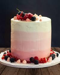 erdbeer ombré torte