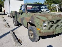 100 1986 Chevy Trucks For Sale Solid Chevrolet M1008 CUCV Military Pickup For Sale