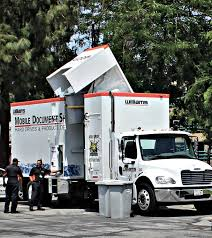 100 Shred Truck Mobile Document Ding Solutions Southern California