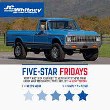 JC Whitney (@JC_Whitney) | Twitter J C Whitney Imported Cars Parts Accsories Catalog 1972 72 Chevrolet K10 W 454swap From Original 350 4speed Manual 1969 Jc Co Car No 5 Volkswagen Volvo 1955 Automotive 111 Jc Dodge Truck Best Resource Midwest Sears Auto Parts Catalogs Sold The Hamb Experiment To See If Everything In A Can Fit On Lists Top Ten Oddest Auto Ever To Grace Their Jc_whitney Twitter Bubba Muntzer