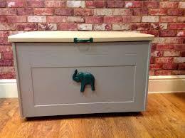 handmade wooden toy box storage box many uses very heavy